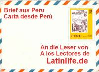 Brief aus Peru
