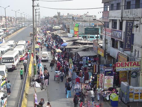 Haendler-in-Lima